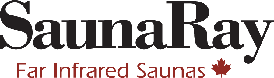 Logo for SaunaRay Real Basswood Far Infrared Saunas